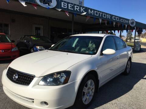 2006 Nissan Altima for sale at Berk Motor Co in Whitehall PA
