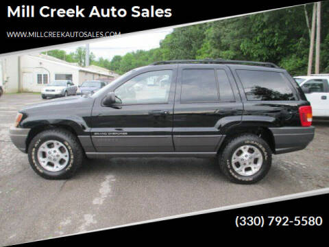 2000 Jeep Grand Cherokee for sale at Mill Creek Auto Sales in Youngstown OH