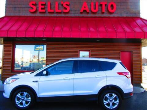 2015 Ford Escape for sale at Sells Auto INC in Saint Cloud MN