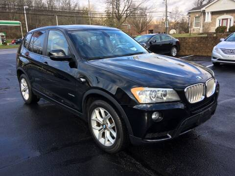 2011 BMW X3 for sale at Borderline Auto Sales in Loveland OH