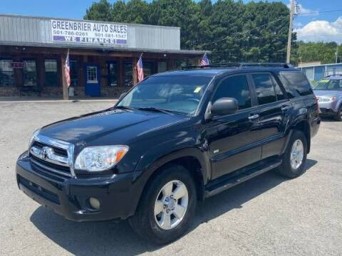 2007 Toyota 4Runner for sale at Greenbrier Auto Sales in Greenbrier AR