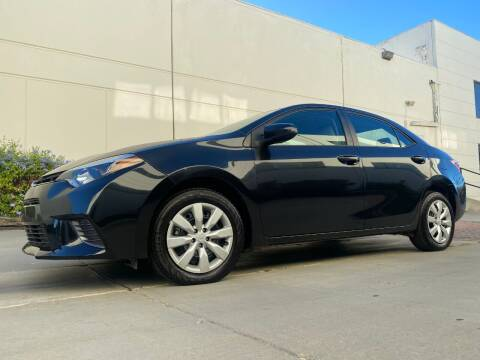 2016 Toyota Corolla for sale at New City Auto - Retail Inventory in South El Monte CA