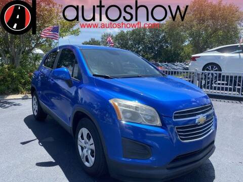 2016 Chevrolet Trax for sale at AUTOSHOW SALES & SERVICE in Plantation FL