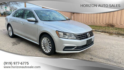 2016 Volkswagen Passat for sale at Horizon Auto Sales in Raleigh NC