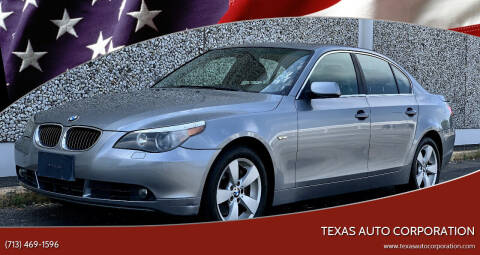 2006 BMW 5 Series for sale at Texas Auto Corporation in Houston TX
