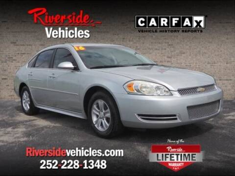 2016 Chevrolet Impala Limited for sale at Riverside Mitsubishi(New Bern Auto Mart) in New Bern NC