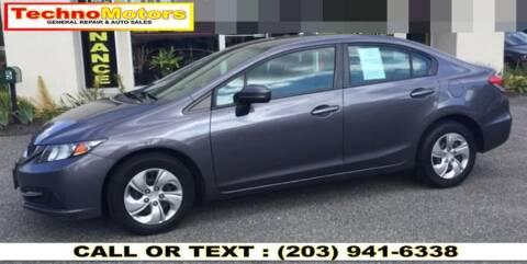 2015 Honda Civic for sale at Techno Motors in Danbury CT