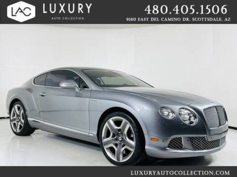 2014 Bentley Continental for sale at Luxury Auto Collection in Scottsdale AZ