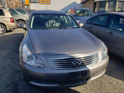 2008 Infiniti G35 for sale at Jimmys Auto INC in Washington DC
