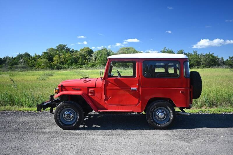 1975 Toyota Land Cruiser for sale at McQueen Classics in Lewes DE