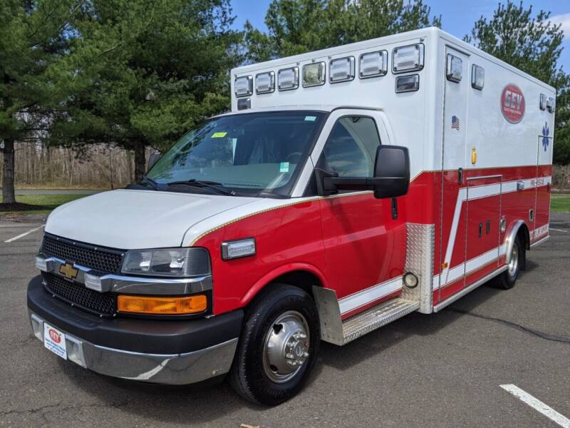 2012 Chevrolet G4500 PL Custom Type III Ambulance for sale at Global Emergency Vehicles Inc in Levittown PA
