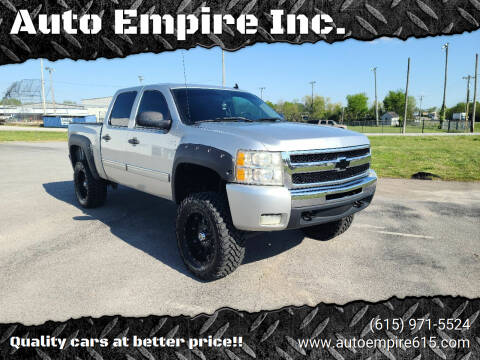 2011 Chevrolet Silverado 1500 for sale at Auto Empire Inc. in Murfreesboro TN