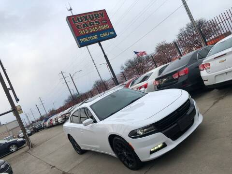 2017 Dodge Charger for sale at Dymix Used Autos & Luxury Cars Inc in Detroit MI