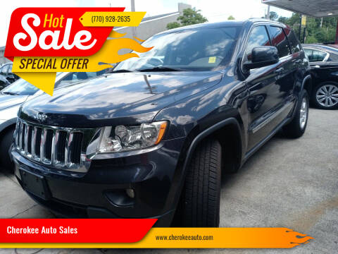 2012 Jeep Grand Cherokee for sale at Cherokee Auto Sales in Acworth GA
