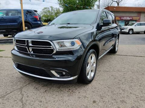 2015 Dodge Durango for sale at Lamarina Auto Sales in Dearborn Heights MI