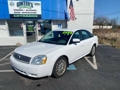 2006 Mercury Montego for sale at Ginters Auto Sales in Camp Hill PA