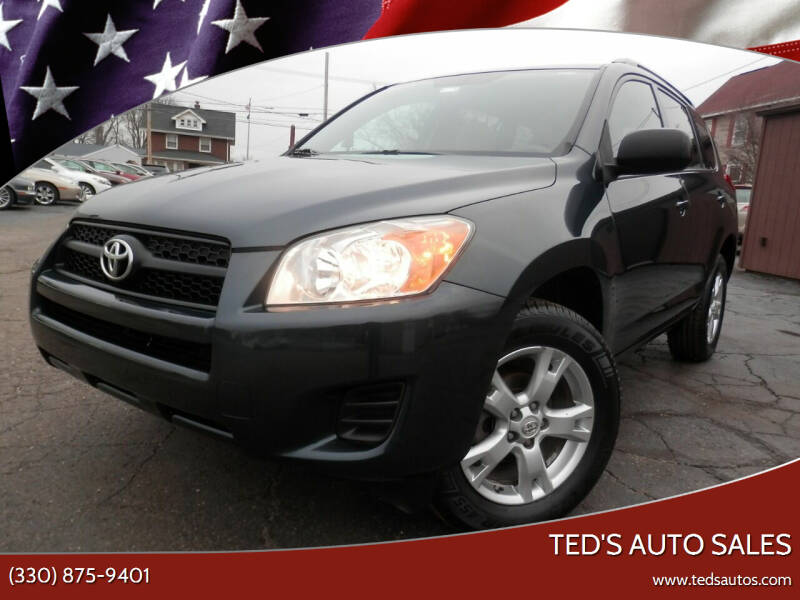 2011 Toyota RAV4 for sale at Ted's Auto Sales in Louisville OH
