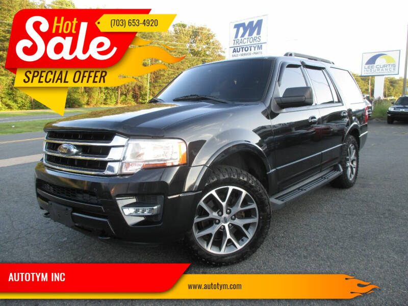 2015 Ford Expedition for sale at AUTOTYM INC in Fredericksburg VA
