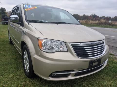 2012 Chrysler Town and Country for sale at GREAT DEALS ON WHEELS in Michigan City IN