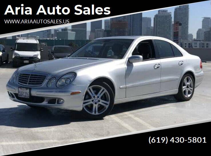 2006 Mercedes-Benz E-Class for sale at Aria Auto Sales in El Cajon CA