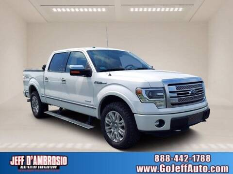2013 Ford F-150 for sale at Jeff D'Ambrosio Auto Group in Downingtown PA