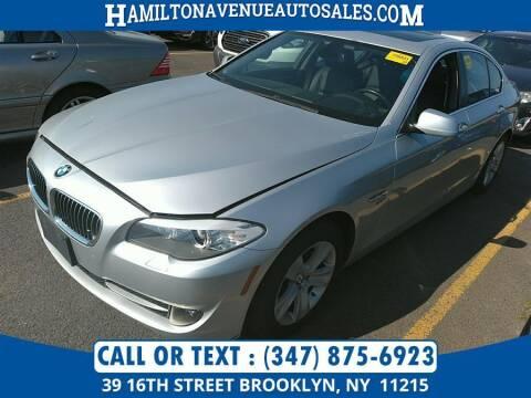 2012 BMW 5 Series for sale at Hamilton Avenue Auto Sales in Brooklyn NY
