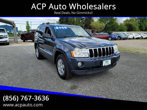 2007 Jeep Grand Cherokee for sale at ACP Auto Wholesalers in Berlin NJ
