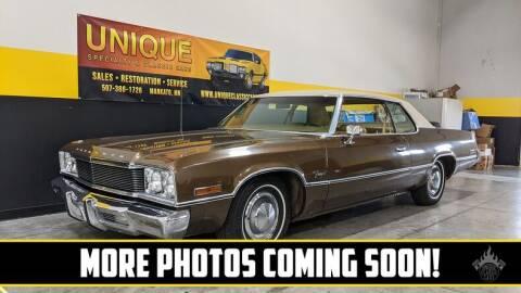 1974 Plymouth Fury for sale at UNIQUE SPECIALTY & CLASSICS in Mankato MN