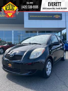 2008 Toyota Yaris for sale at West Coast Auto Works in Edmonds WA