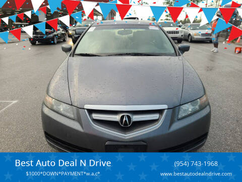 2006 Acura TL for sale at Best Auto Deal N Drive in Hollywood FL