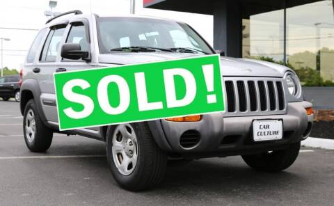 2004 Jeep Liberty for sale at Car Culture in Warren OH