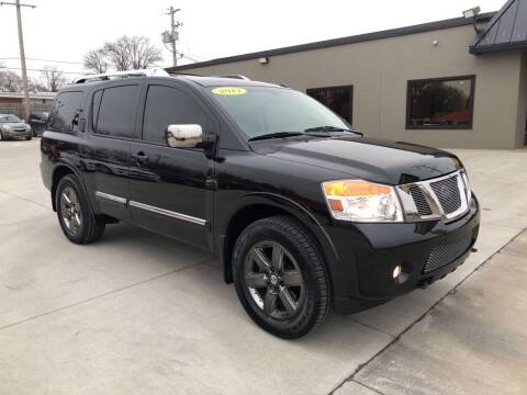 2013 Nissan Armada for sale at Tigerland Motors in Sedalia MO