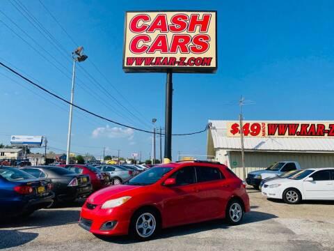 2009 Toyota Matrix for sale at www.CashKarz.com in Dallas TX