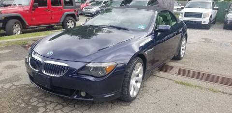 2006 BMW 6 Series for sale at AMA Auto Sales LLC in Ringwood NJ