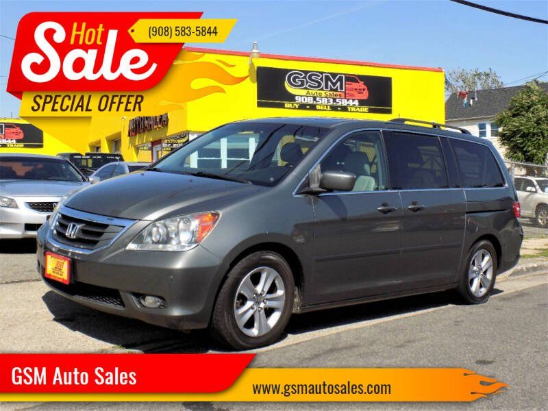 2008 Honda Odyssey for sale at GSM Auto Sales in Linden NJ