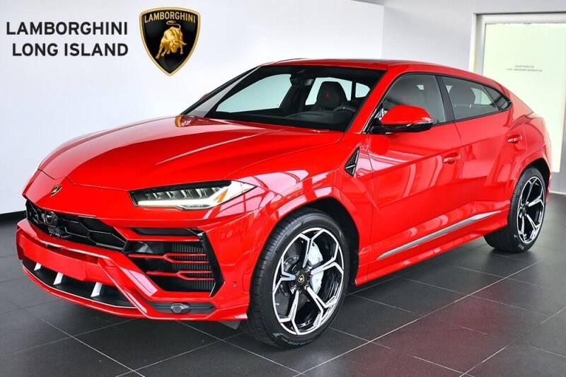 2020 Lamborghini Urus for sale at Bespoke Motor Group in Jericho NY