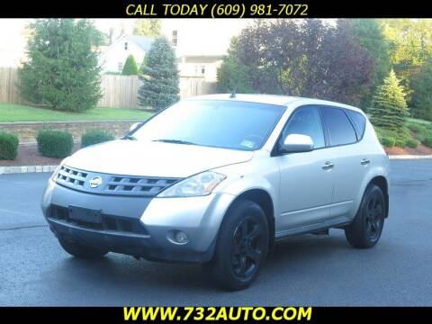 2004 Nissan Murano for sale at Absolute Auto Solutions in Hamilton NJ