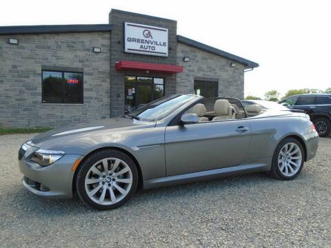 2009 BMW 6 Series for sale at GREENVILLE AUTO & RV in Greenville WI