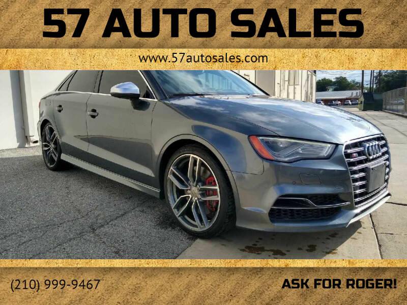 2015 Audi A3 for sale at 57 Auto Sales in San Antonio TX