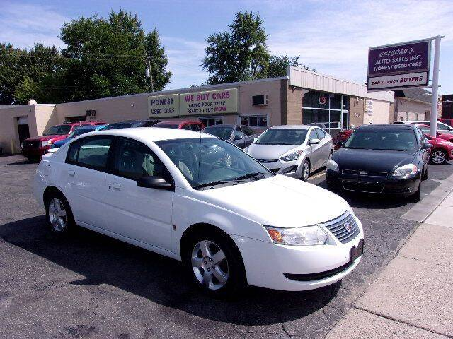 2007 Saturn Ion for sale at Gregory J Auto Sales in Roseville MI