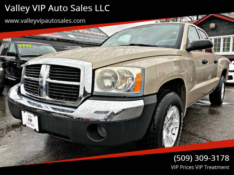 2005 Dodge Dakota for sale at Valley VIP Auto Sales LLC in Spokane Valley WA