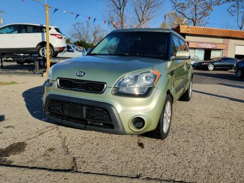 2013 Kia Soul for sale at Lamarina Auto Sales in Dearborn Heights MI