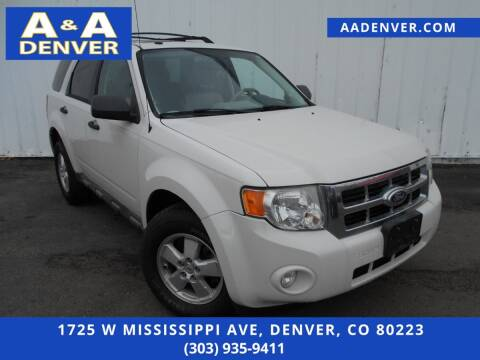 2010 Ford Escape for sale at A & A AUTO LLC in Denver CO