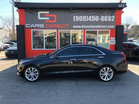 2014 Cadillac ATS for sale at Cars Direct in Ontario CA