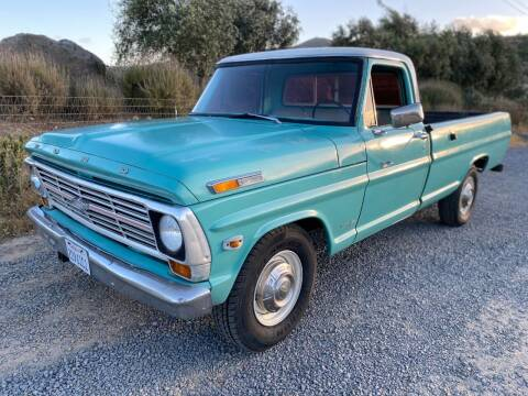 1969 Ford F-250 for sale at Dan Reed Autos in Escondido CA