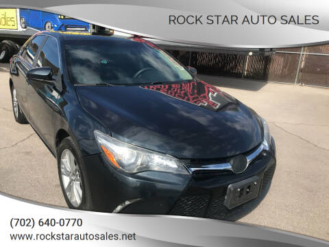 2017 Toyota Camry for sale at Rock Star Auto Sales in Las Vegas NV