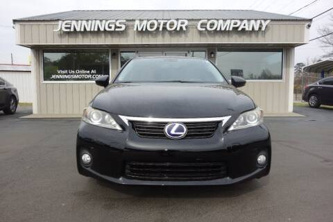 2012 Lexus CT 200h for sale at Jennings Motor Company in West Columbia SC