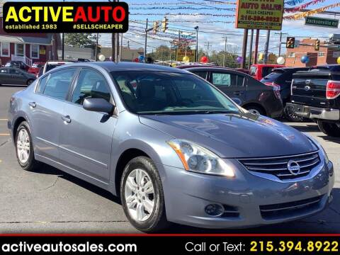 2012 Nissan Altima for sale at Active Auto Sales in Hatboro PA