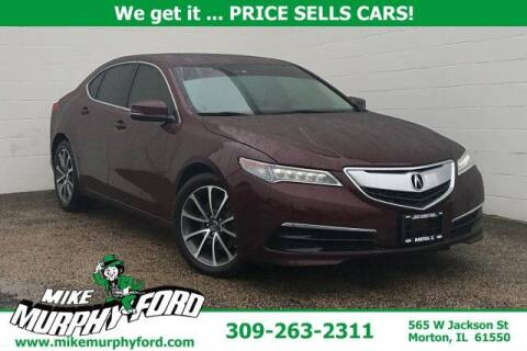 2015 Acura TLX for sale at Mike Murphy Ford in Morton IL