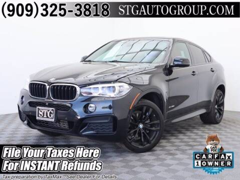 2018 BMW X6 for sale at STG Auto Group in Montclair CA
